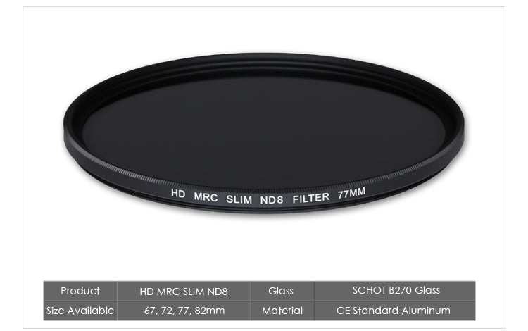H&Y MRC ND Filter Specification