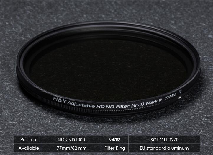 VARIABLE ND3-1000 FILTER