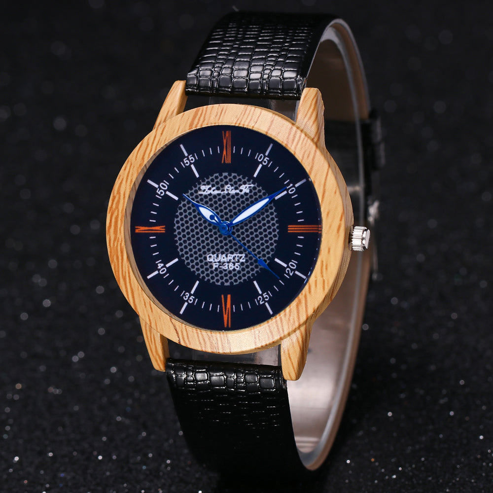 watches pointer quartz for wristwatch luxury imitation wood clock products w gift personal fashionable fashion strap snake diy grain new zhoulianfa women wooden