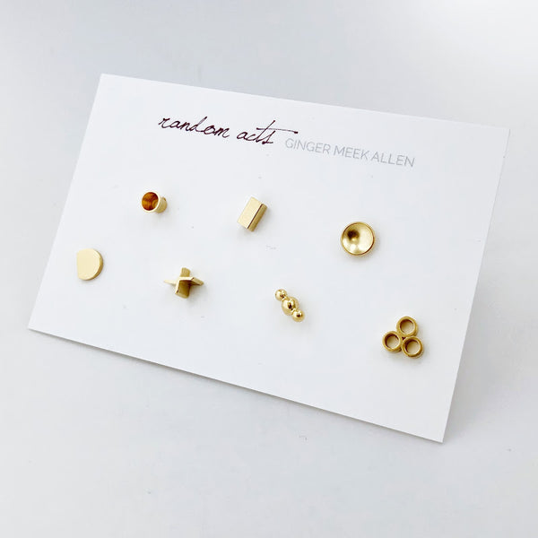 Random Acts Stud Collection