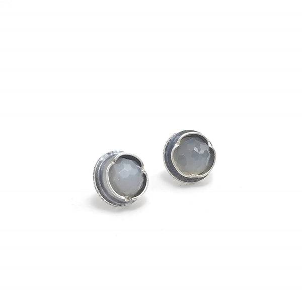 Large Rosecut Eclectic Ethos Studs
