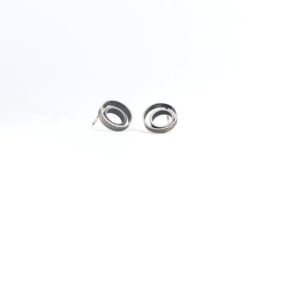 Double Ring Studs