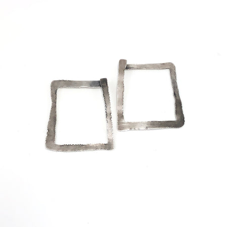 Aquamarine Arise Studs - large