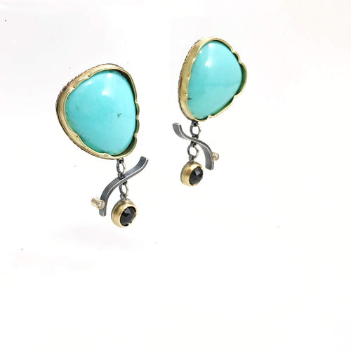 Turquoise Arise Earrings