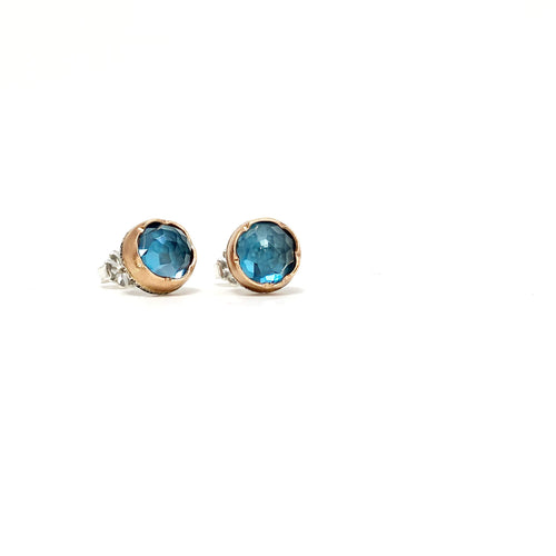 London Blue Topaz Arise Studs