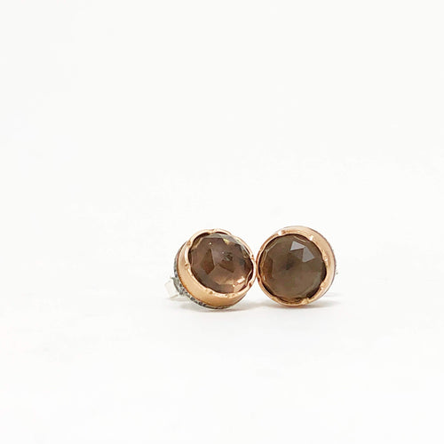 Smokey Quartz Arise Studs
