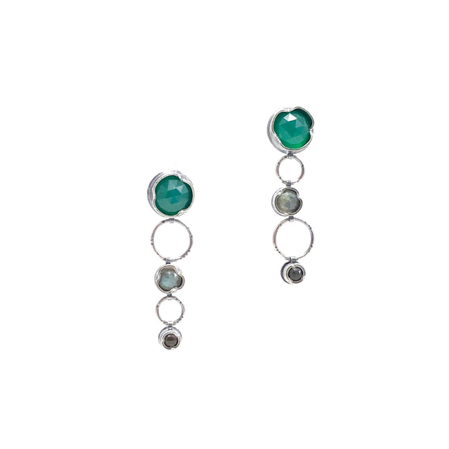 Eclectic Ethos Multi Earrings - Trio