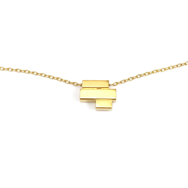 Blocks Necklace