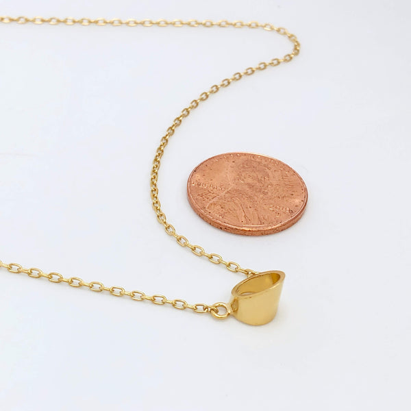 Slant Necklace
