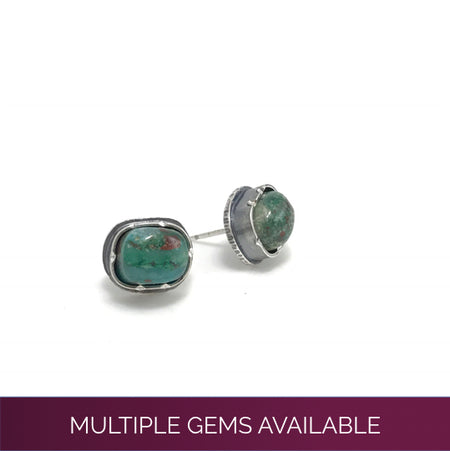 Black Spinel Arise Studs - mini