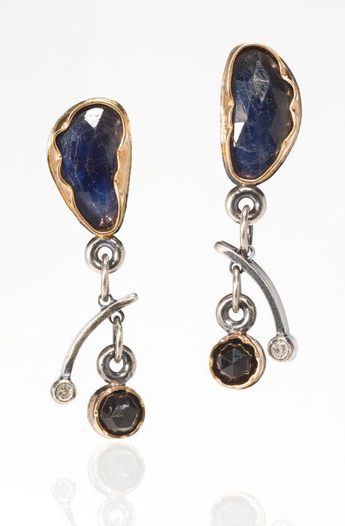 Sapphire Arise Earrings