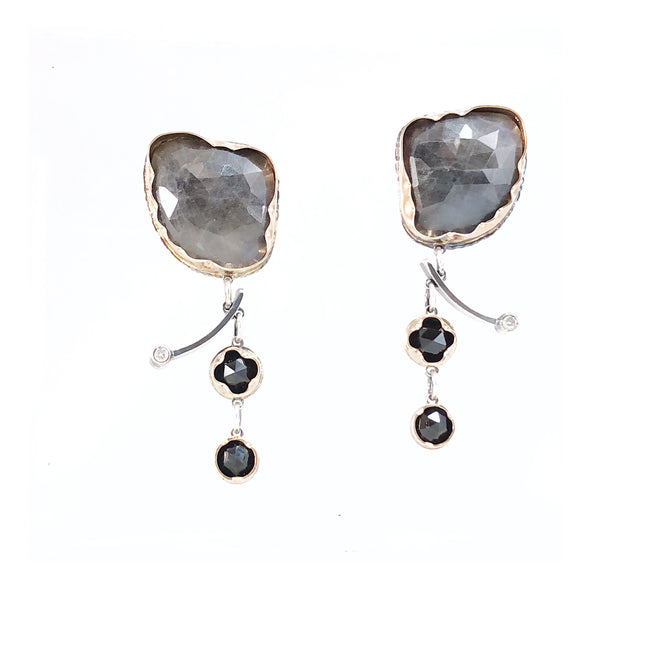 Arise Earrings - Grey II