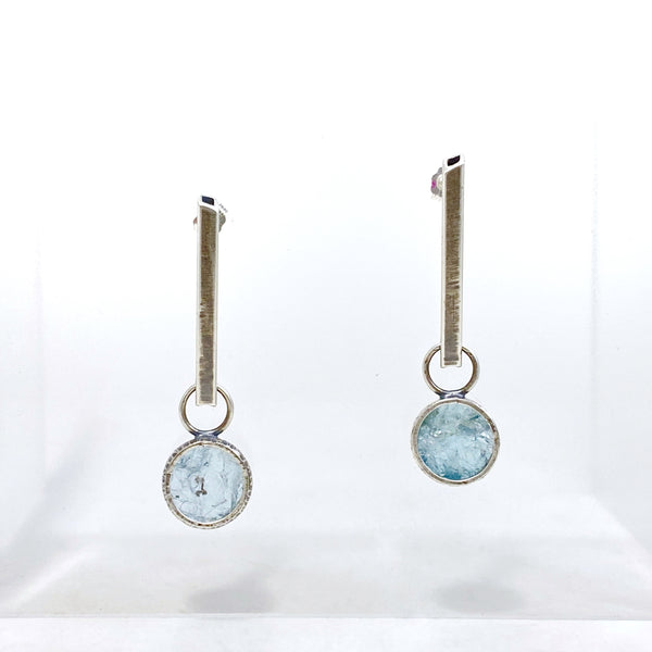 Aquamarine View Earrings