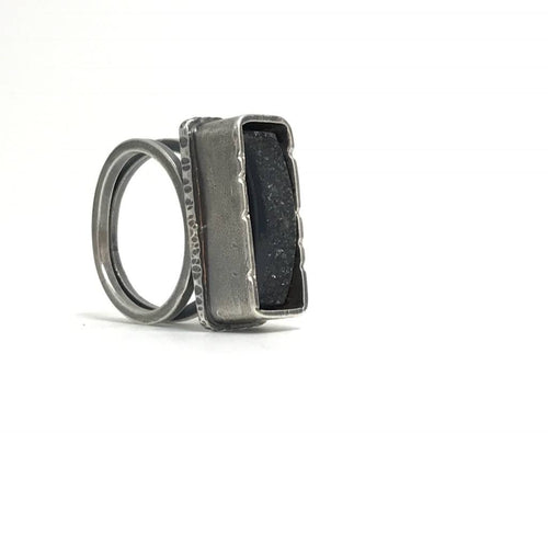 Creative Black Tie Box Ring