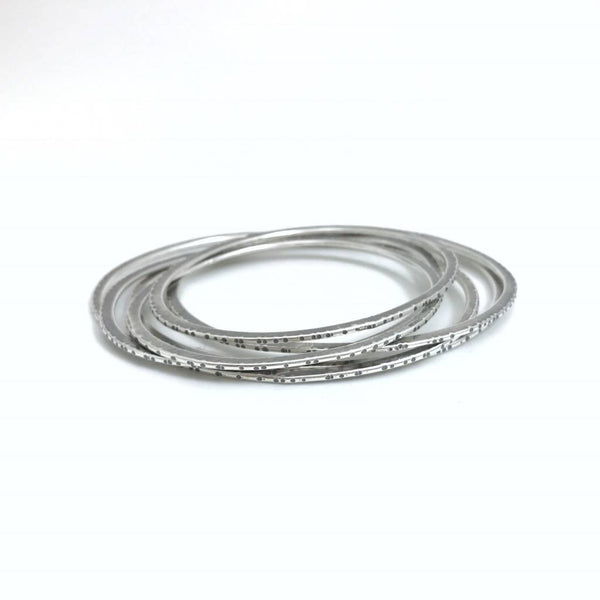 Sliced Forged Bangles