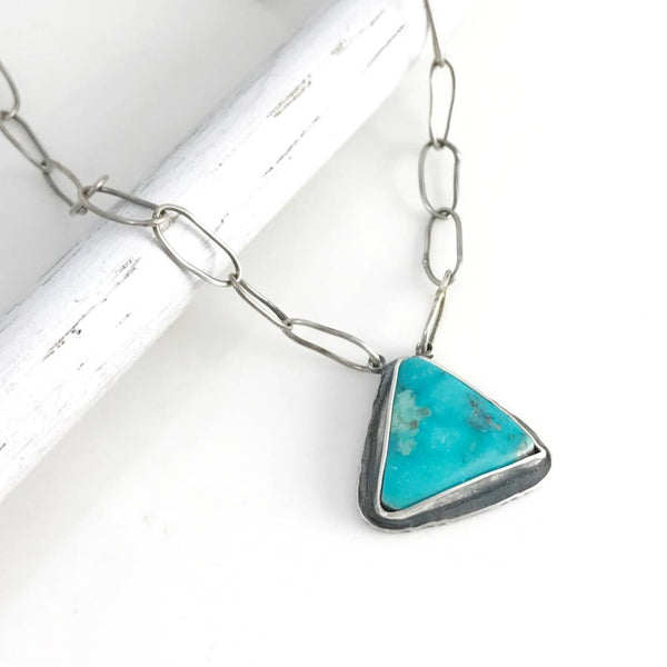 Ease Necklace with Turquoise - 2