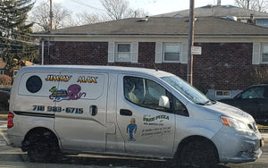 Jimmy Max Delivery Van