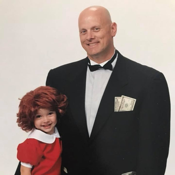 James McBratney in Annie as Daddy Warbucks