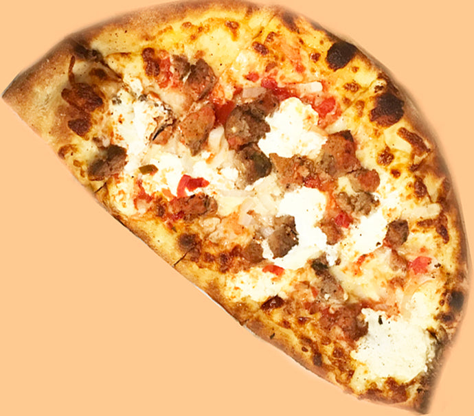 MOR Pie Meatballs Onions Sausage Pizza