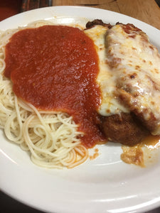 Jimmy Max Chicken Parmigiana Dinner