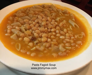 Pasta Fagioli Homemade Soup