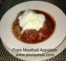 Jimmy Max Meatball Appetizer