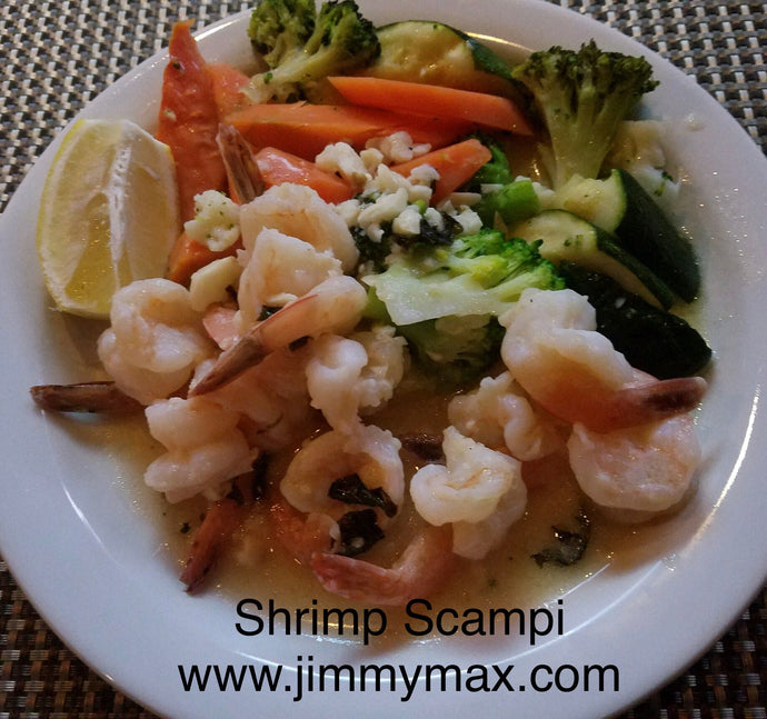 Shrimp Scampi - Jimmy Max Restaurant