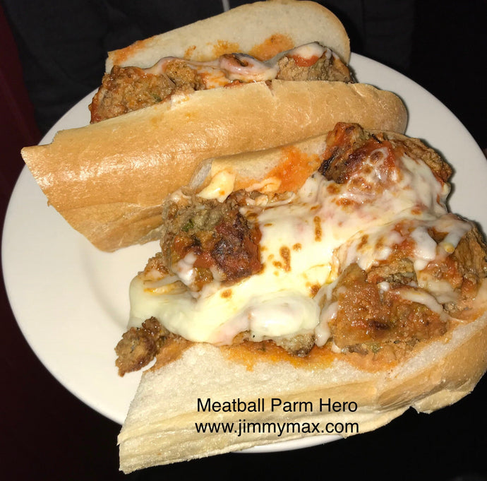 Jimmy Max Meatball Parm Hero Order Online