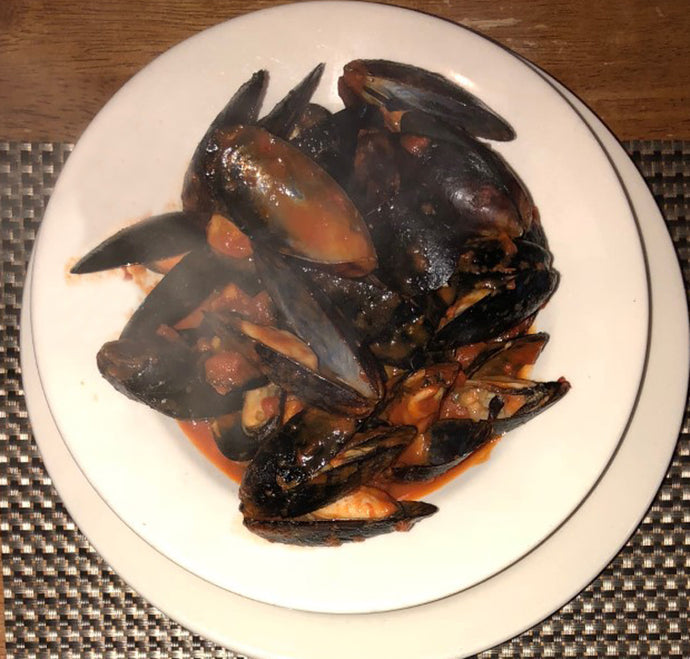 1 lb Mussels Red Sauce