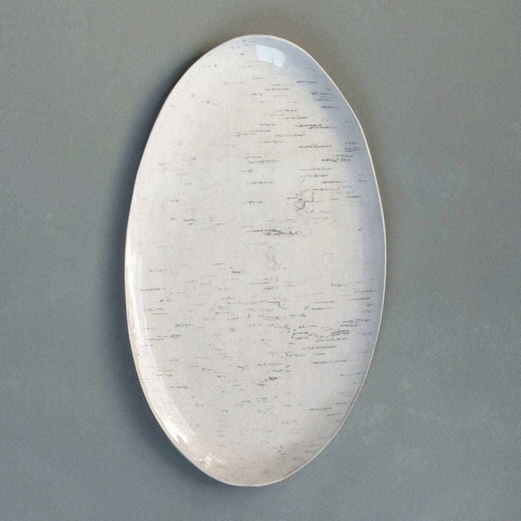 birch small oval platter