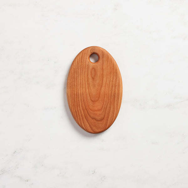 small oval serving board