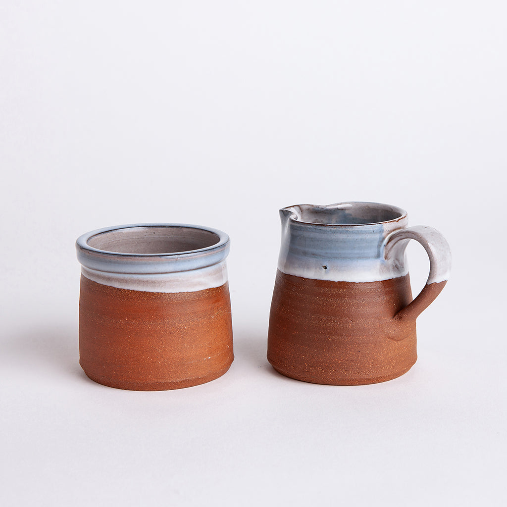sugar + creamer set