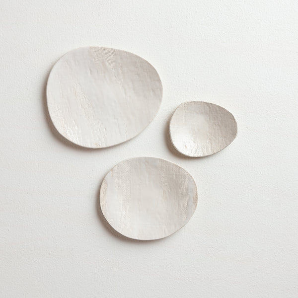 white small plate set | no.1