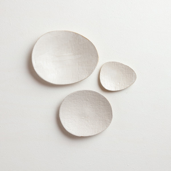 white small plate set | no.2