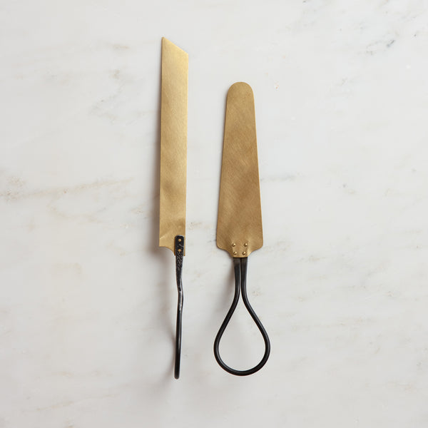 cake server + knife set