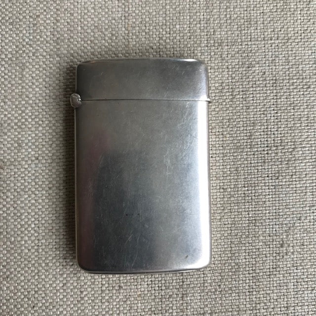 edwardian sterling match box | C