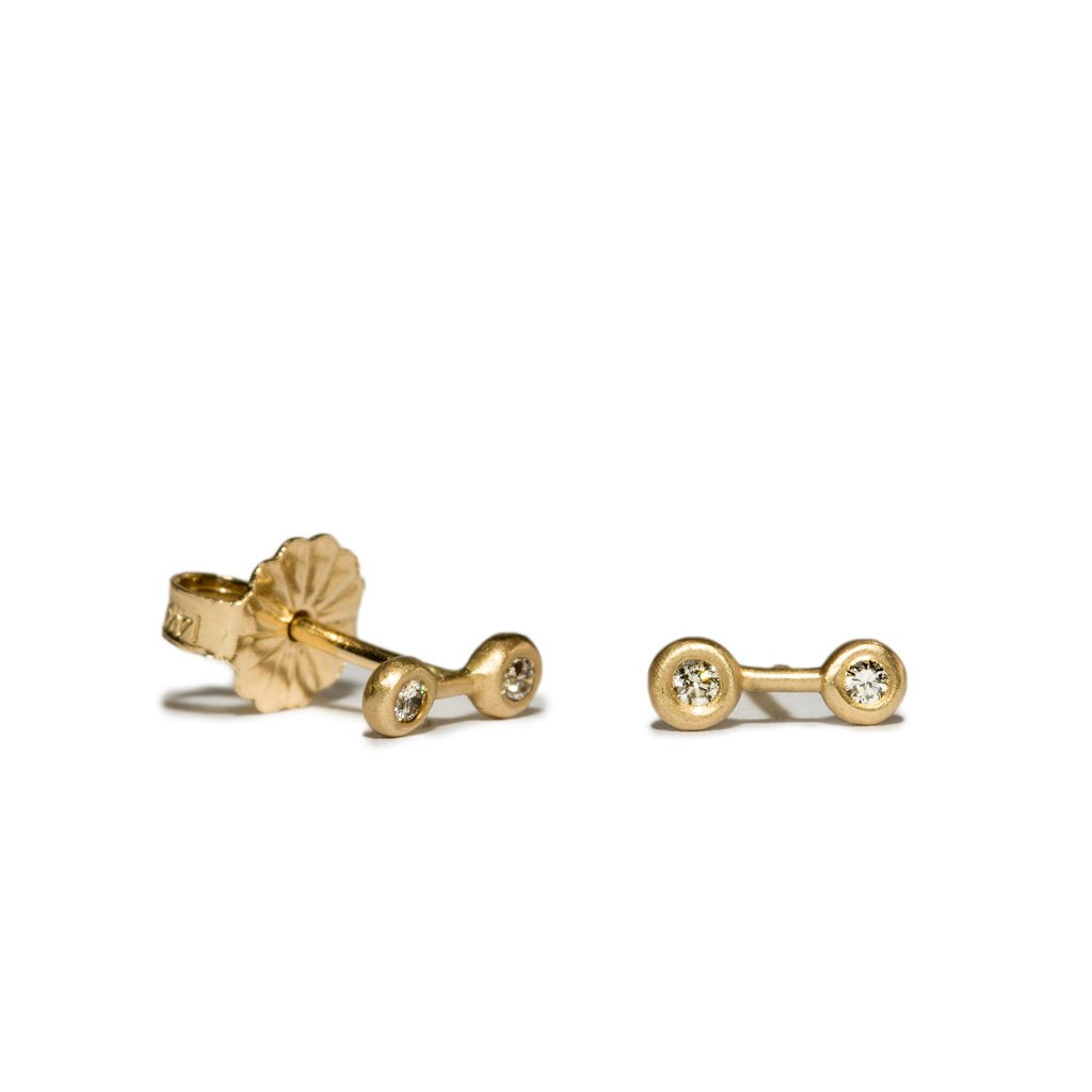 NEW | diamond barbell studs