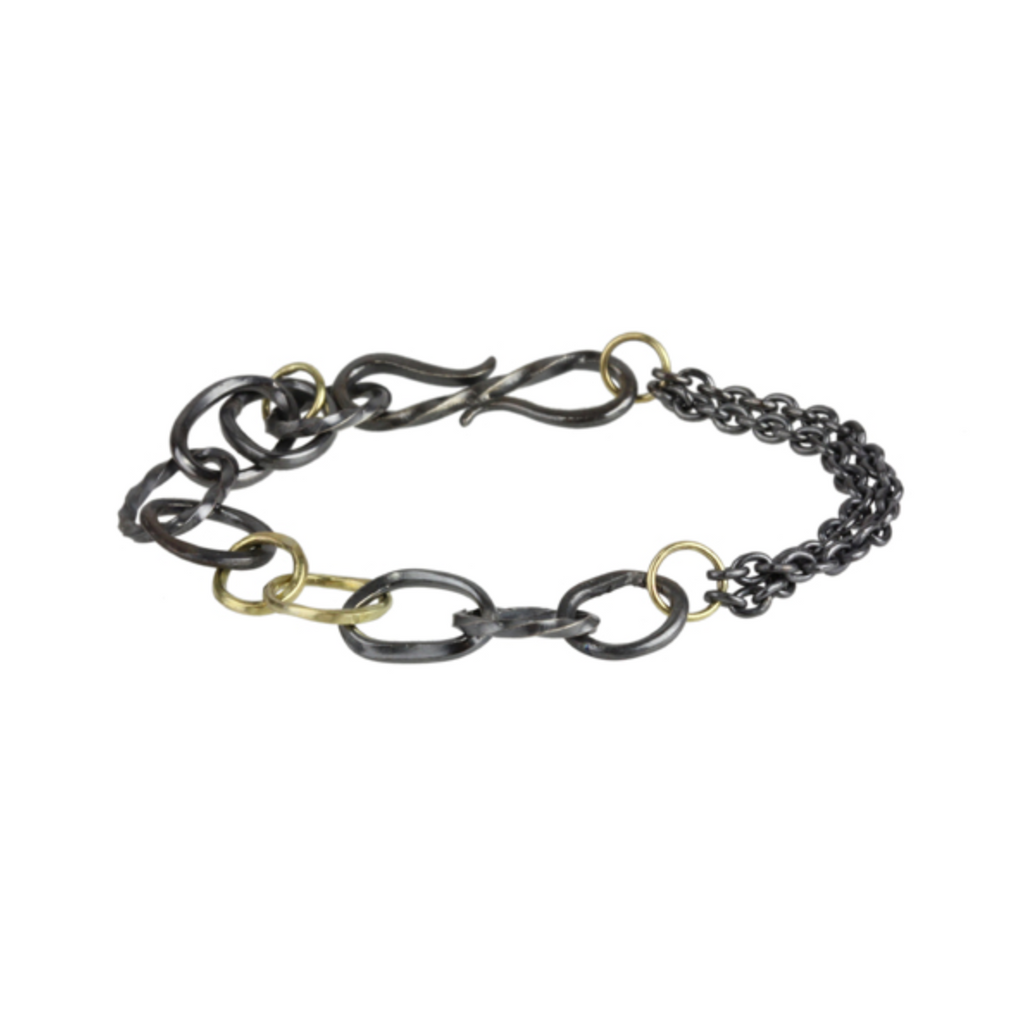 wrought links bracelet