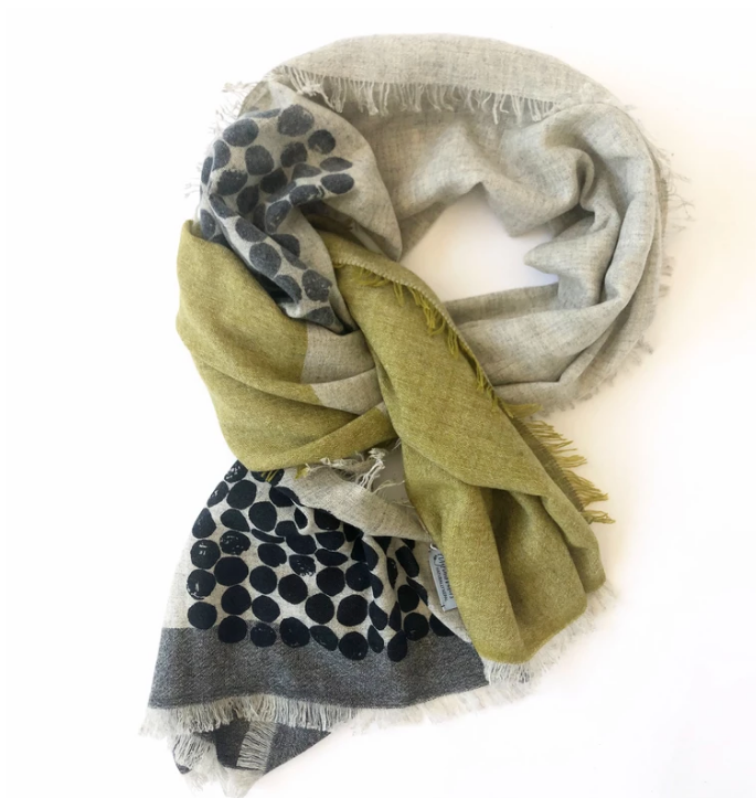 field cashmere scarf