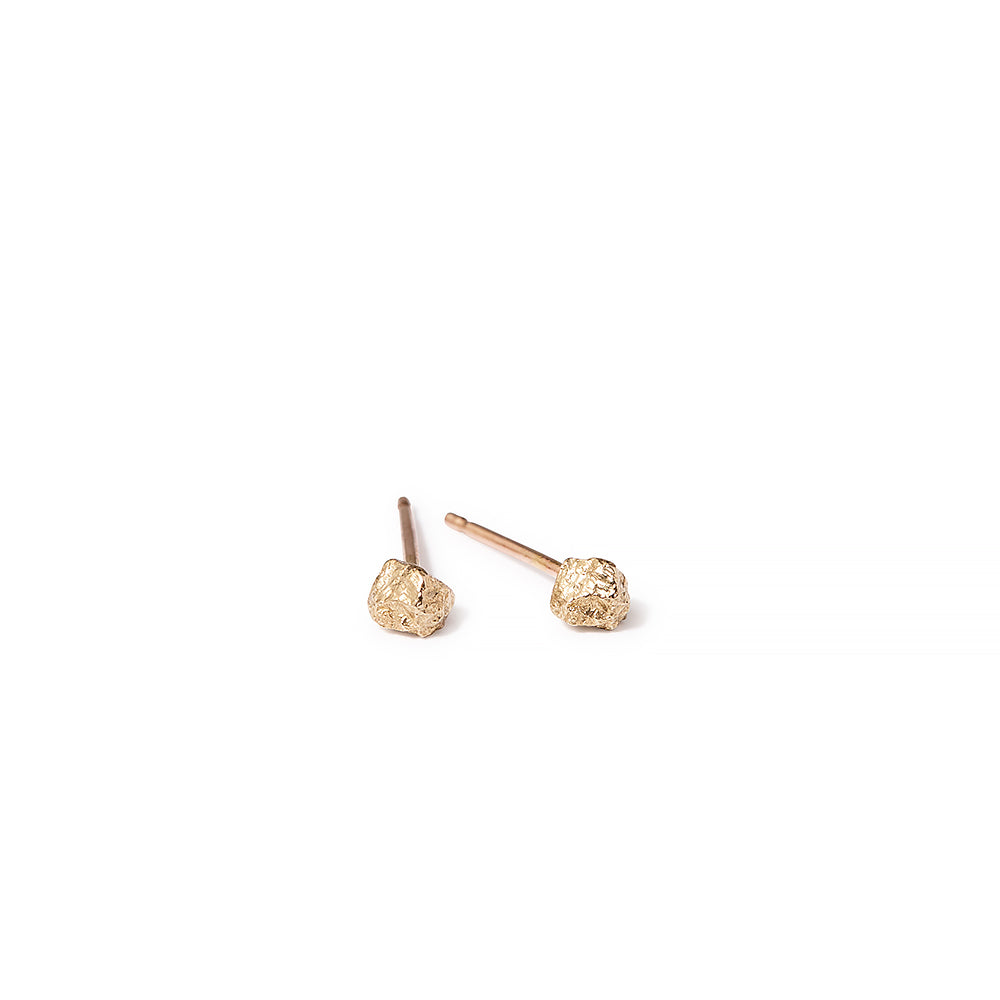 salt crystal studs