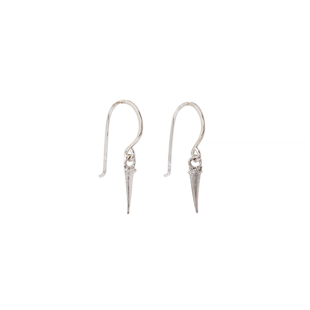catbrier thorn drop earrings