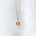 honeycomb prism necklace
