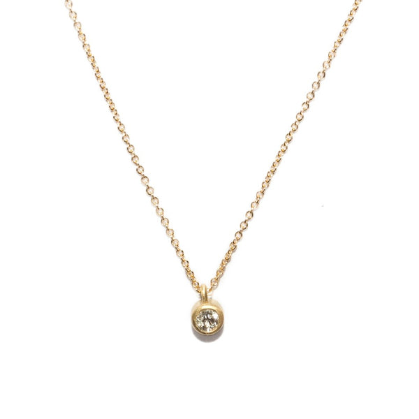 large dainty diamond necklace