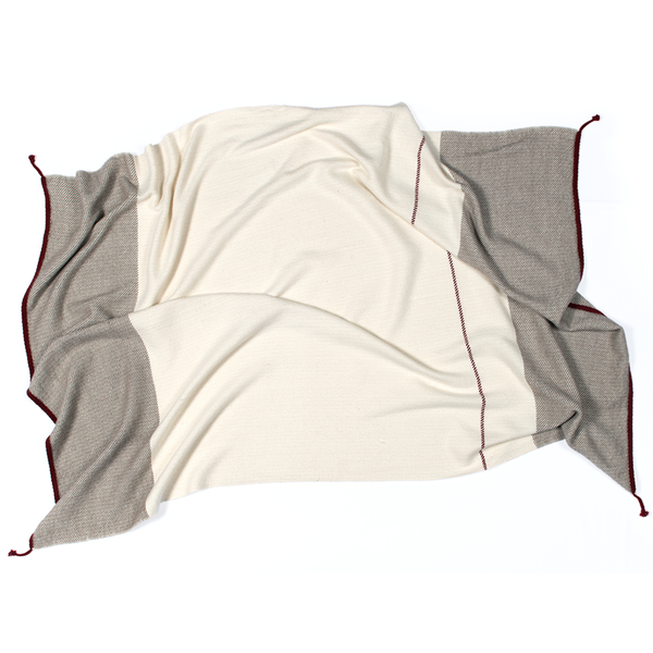 no.46 cashmere throw | fawn