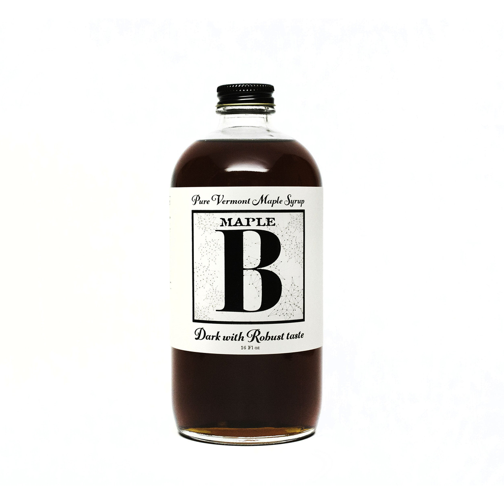 maple b dark maple syrup