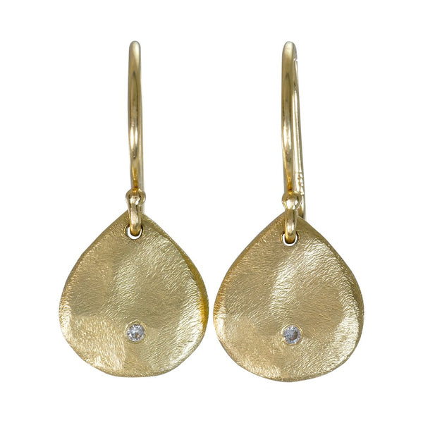 mini drop diamond earring
