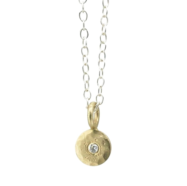 mini treasure coin necklace