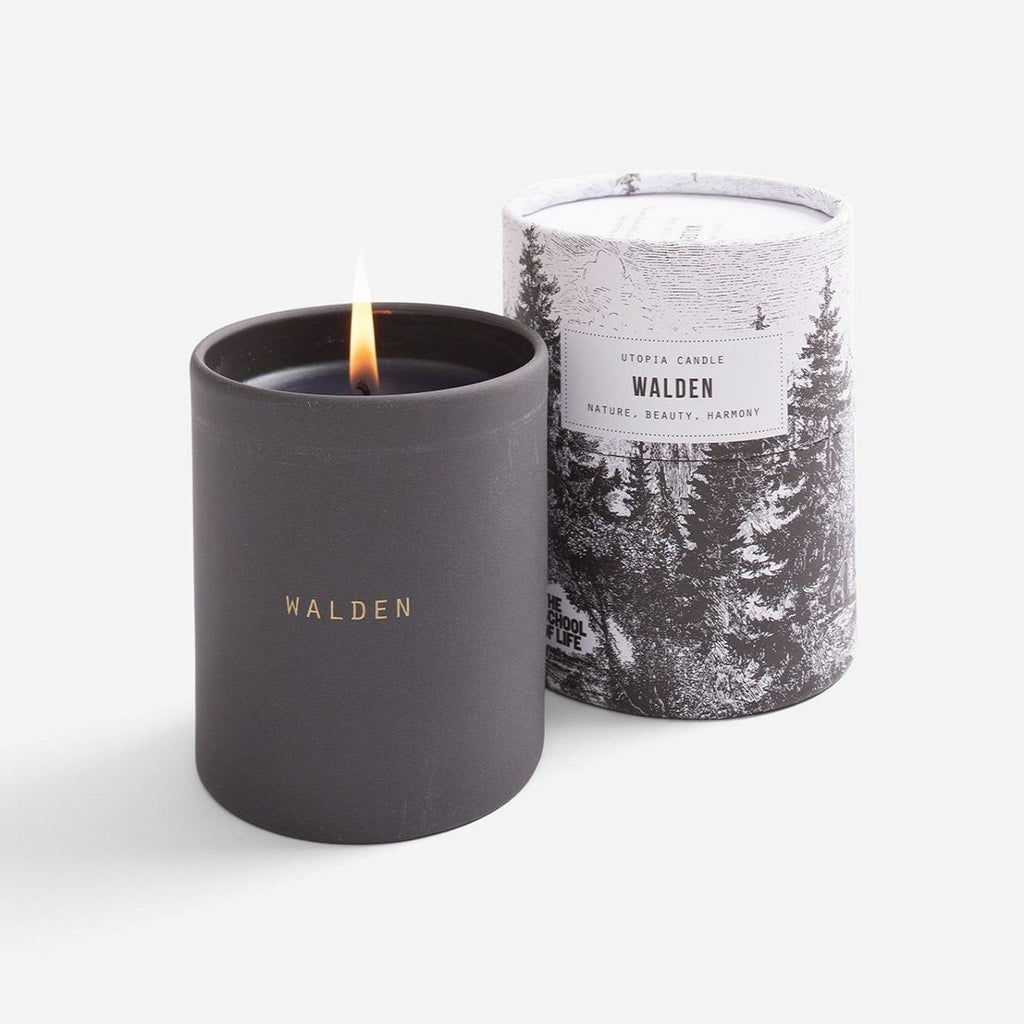 walden utopia candle