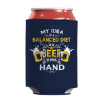 Balanced Diet Is A Beer In Each Hand