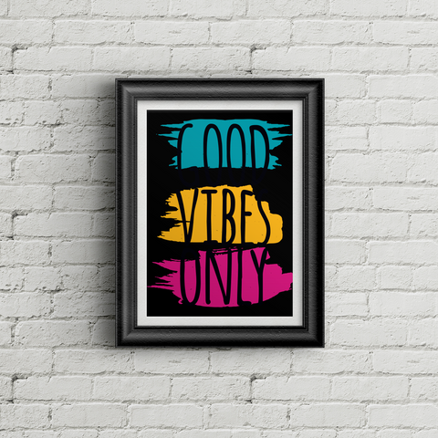 Good Vibes Only - BG Poster